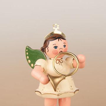 Engel mit Horn 6,5 cm